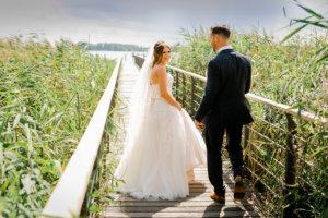 Park Cafe Bad Saarow Hochzeit - Brautpaarshooting